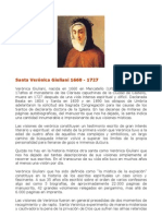 Sta Verónica Guliani y el Purgatorio