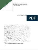 La Actualidad de Marcel Mauss en España - Fermin Del Pino Díaz