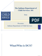 Who are the Indiana Department of Child Services