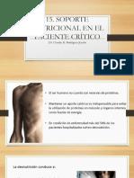 15. Soporte Nutricional Paciente Crítico Sab
