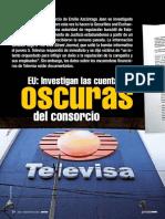 Las cuentas oscuras de Televisa