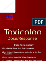 Toxicology of Pestisida