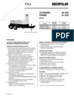 Caterpillar XQ45 Towable Diesel Generator Set