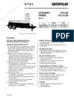 Caterpillar XQ175 Towable Diesel Generator Set