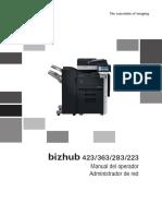 Bizhub 423 363 283 223 Ug Network Administration Es 2 1 1