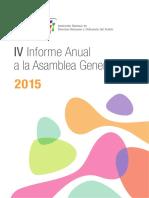 IV Informe Anual a La Asamblea General Digital