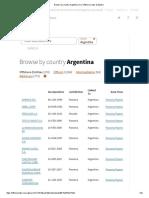 Panama Papers - Empresas de argentinos