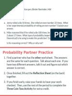 unit 6 probability partner practice