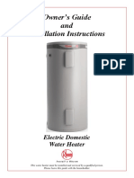 Rheem Hot Water Heater Manual 111080