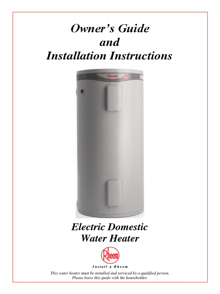 Electric Water Heater Wiring Diagram For Rheem from imgv2-2-f.scribdassets.com