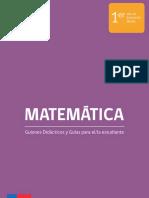 media matematica primero