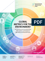 Environmental Performance Index 2016 - Yale Columbia WEF Et Al