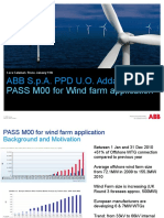 PASS for Wind Farm Application