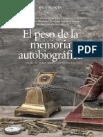 El Peso de La Memoria Autobiográfica