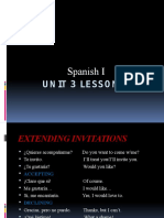 spanish i unit 3 lesson 1 ppoint