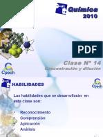 CLASE.14 Concentracion