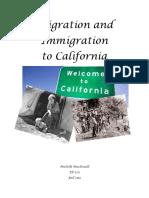 immigration migration unit plan