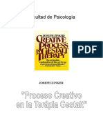 El Proceso Creativo de La Terapia Gestalt
