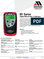 Meriam m100 Data Sheet