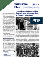 antifaschistische nachrichten 2006 #12