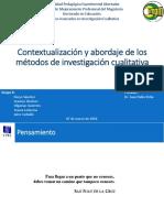 Contextualización y Abordaje de Los Métodos de Investigación Cualitativa