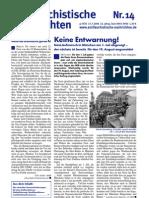 antifaschistische nachrichten 2006 #14