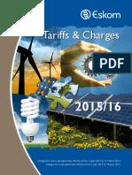 Tariff Brochure Eskom