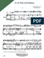Violin Concerto I (Piano)