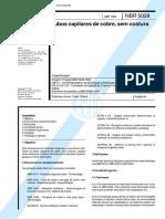 NBR 05028 - Tubos Capilares de Cobre