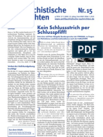 antifaschistische nachrichten 2006 #15