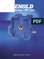 RENOLD (Worm Gear_ Models PH)