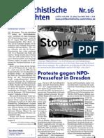 antifaschistische nachrichten 2006 #16