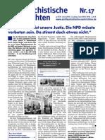 antifaschistische nachrichten 2006 #17