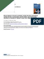 Biasedattentiontothreatinpaediatricanxietydisorders(generalized