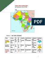 África. as Três Guinés. Angola e Moçambique. 18.02.2016