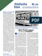 antifaschistische nachrichten 2006 #20