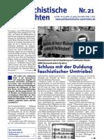 antifaschistische nachrichten 2006 #21