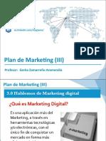 Plan de Marketing III