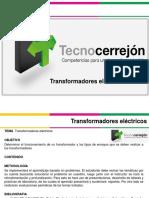 MP15007 Transformadores eléctricos
