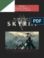Elder Scrolls v Skyrim Prima Unofficial EGuide