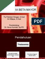 Thalasemia Beta Mayor PPT