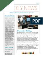 class newsletter edition 18