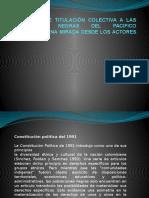 La Politica de Titulacion Colectiva - Copia