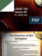 Logic Part 2 Lesson 5