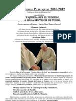 Plan Pastoral Parroquial 2010-2012