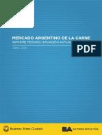 Informe Tecnico Mercado Argentino de La Carne