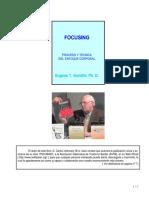 Gendlin Eugene - Focusing - Proceso Y Tecnica de Enfoque Corporal