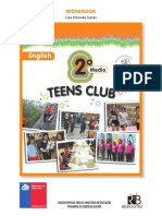 Teens Club 2°Medio 2016 WORKBOOK
