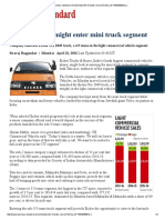 Eicher Business Standard