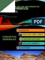 Fundamentos y Conceptos Basicos de La Geologia de Los Yacimientos de Minerales